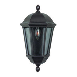 Craftmade - Bronze Britannia 1 Light Outdoor Wall Washer - Craftmade Z3012-92 Britannia Outdoor Sconce, Oiled Bronze This Craftmade product is offered in an oiled bronze finish. It is offered with clear beveled