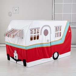 Jetaire Camper Play Tent - For those who prefer to stay somewhere other than the tent, this is camper is the perfect solution for kids of most any age.
