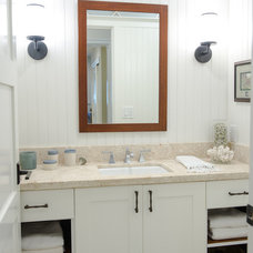 Beach Style Bathroom by Ashley Camper Photography