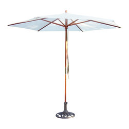 Oakland Living - Oakland Living 9 Ft Umbrella with Stand in Antique Bronze - Oakland Living - Patio Umbrellas - 4001WT41012AB - About This Product: