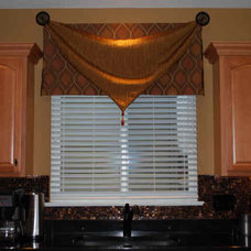 Contemporary Curtains by Windows and More by Chrystal