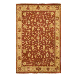 Antolya ANT-9702 Red Rug - 2'x3' - Antolya ANT-9702 Red: Traditional rugs inspired by Persian rugs, Antique Oriental rugs or other traditional area rugs are available now. ModernRugs. om is now also featuring traditional rug designs. Traditional Persian and Oriental rugs from ModernRugs. om are now available in a variety of colors and styles, and complement any space. Our traditional Persian rugs provide an elegant look. These Traditional antique Oriental rugs are timeless and add a touch of class to your home. This Traditional area rug is Hand Knotted in India with 100% Semi-Worsted New Zealand Wool. The specific colors of this rug include Red, Gold, Beige. he primary color of this rug is red.