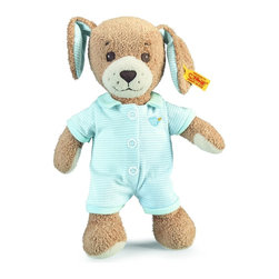 Steiff - Steiff Baby Good Night Dog - Steiff Baby Good Night Dog is made of plush for baby-soft skin. Machine washable. Handmade by Steiff of Germany.