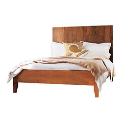 Viva Terra plank bed made by Urban Woods - plank bed