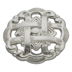 """Hickory Hardware - Cavalier Satin Nickel Cabinet Knob, 1 1/2"""" - Classic lines, finishes and styles create a warm and comforting feel. Usually 18th-century English, 19th-century neoclassic, French country and British Colonial revival. Use of classic styling and symmetry creates a calm orderly look."""