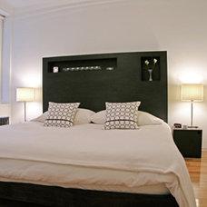 Modern Bedroom by MaryEllen Kowalewski Architect