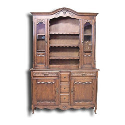 EuroLux Home - New Cabinet Oak French Country Basket - Product Details