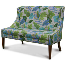 eclectic love seats by Cottage & Bungalow
