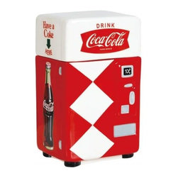 """Westland - 8 Inch """"Have A Coke"""" Vending Machine Style Canister/Holder, Red - This gorgeous 8 Inch """"Have A Coke"""" Vending Machine Style Canister/Holder, Red has the finest details and highest quality you will find anywhere! 8 Inch """"Have A Coke"""" Vending Machine Style Canister/Holder, Red is truly remarkable."""