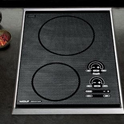 "Wolf Induction Cooktop - If you looking for a little bit of the best of everything, modular appliances like this 15"" Induction Cooktop are a perfect start. I wouldn't replace my gas cooktop altogether, but having one of this in addition would be a dream."