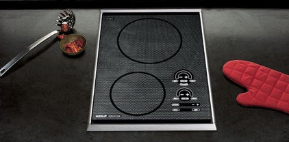 Contemporary Cooktops by Sub-Zero and Wolf
