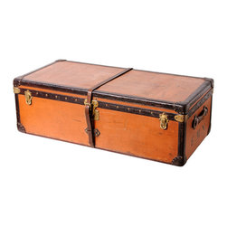 Rare Louis Vuitton Vuittonite Cabin Trunk circa 1910 - The Highboy, Branded Luxury Unlimited