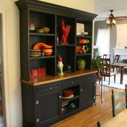 Sophisticated Country  Hutch -