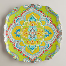 Eclectic Dinner Plates by Cost Plus World Market