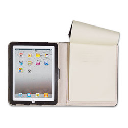 Moleskine® Digital Folio for iPad - Having a great case to protect your iPad is important. The best part of this one is that it also includes a Moleskine notepad. Two in one makes for organized perfection.