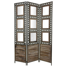 Eclectic Screens And Wall Dividers by Oriental Furniture