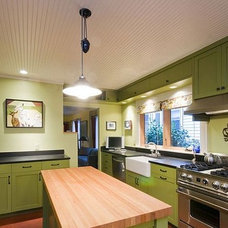 Eclectic Kitchen by MAKE Design Studio