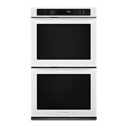 "KitchenAid - Architect Series II KEBS209BWH 30"" Double Electric Wall Oven with 5.0 cu. ft. Pe - The KitchenAid KEBS209B 30 in built-in double wall oven delivers the most even baking among leading premium brand 30-inch wall ovens and features convection cooking With the innovative Even-Heat Technology exclusive to KitchenAid youll get the perfec..."