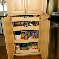 Traditional Pantry by Dan Farrace Fine Woodworking
