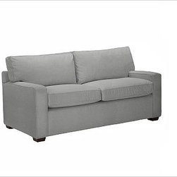 "PB Square Upholstered Loveseat, Polyester Cushions, Textured Basketweave Metal G - The streamlined silhouette of our bestselling PB Square Love Seat is now available in a more tailored, upholstered edition. Compact proportions make it ideal for smaller spaces. 55"" w x 36"" d x 36"" h {{link path='pages/popups/PB-FG-Square-3.html' class='popup' width='720' height='800'}}View the dimension diagram for more information{{/link}}. {{link path='pages/popups/PB-FG-Square-6.html' class='popup' width='720' height='800'}}The fit & measuring guide should be read prior to placing your order{{/link}}. Choose polyester wrapped cushions for a tailored and neat look, or down-blend for a casual and relaxed look. Proudly made in America, {{link path='/stylehouse/videos/videos/pbq_v36_rel.html?cm_sp=Video_PIP-_-PBQUALITY-_-SUTTER_STREET' class='popup' width='950' height='300'}}view video{{/link}}. For shipping and return information, click on the shipping info tab. When making your selection, see the Special Order fabrics below. {{link path='pages/popups/PB-FG-Square-7.html' class='popup' width='720' height='800'}} Additional fabrics not shown below can be seen here{{/link}}. Please call 1.888.779.5176 to place your order for these additional fabrics."