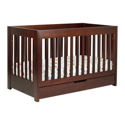 Mercer 3-in-1 Convertible Crib w/ Toddler Rail