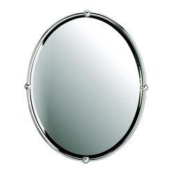 Kichler - Kichler 41006CH Modern Oval Beveled Mirror - *Oval Beveled Mirror24 X 30