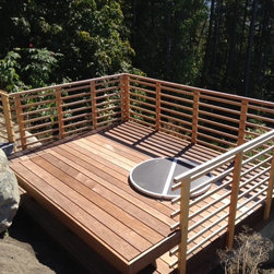 Robins Build on Chuckanut Drive - Ipe decking is used here.  Extremely durable and beautiful.