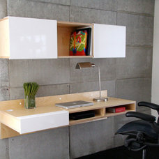 Contemporary Desks by Dayoris Custom Woodwork