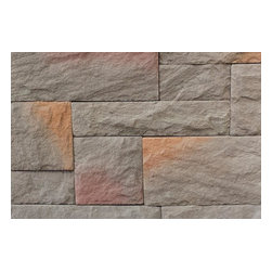 Black Bear - Black Bear Manufactured Stone - Castle Rock - Ledge Only [10.8 sq ft/box] - Summit Brown / Castle Rock 10.75 Sq ft Flat -  The old-world style of Castle Rock Collection manufactured stone veneer is a lovely addition to any wall. It's made to cut, size, and install quickly and easily, which means that you can use it anywhere inside and outside your home, wherever you want a touch of style.    Choose the design look you want at the price you need at BuildDirect    With rectangle and square stones created in a variety of heights and lengths for elegance and sophistication, this product offers advanced molding technology for realism and color accuracy. The Castle Rock Collection looks wonderful in any home with its natural color variation and unique design.    With a fine concrete base, this product is light and easy to work with, which means that this manufactured veneer will save you time and money. Install it yourself, with no professional support needed.     BuildDirect's commitment to quality and value makes sense for your family    You don't have to spend more on home improvement when you can get the best products on the market at the right price at BuildDirect. With a simple installation process, the Castle Rock Collection is an easy choice. With BuildDirect, you'll pay less for more, because quality is as important to us as it is for our customers.    Inside your home or on exterior walls, this product will stand out. BuildDirect makes a commitment to service and value that is second to none, which means that this product will be a wonderful choice for any home improvement project.