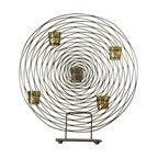 Zodax - Zodax Ambienti Swirl Tealight Holder - Zodax - Candle Holders / Lanterns - IN2660 - Ambienti Swirl Tealight Holder