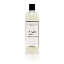 No. 10 Fabric Conditioner - Keep your fabrics in their freshest state for as long as possible while completing the final layer of your personal fragrance with No. 10 Fabric Conditioner, a plant-derived product that reduces wrinkling, static buildup, and drying time in both apparel and decor fabrics. A mix of dark, sultry spice and fresh, innocent powder expresses the complex nature of the fragrance.