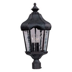 Maxim Lighting - Maxim Lighting 40271WGOB Garden VX 3-Light Outdoor Pole/Post Lantern - Features