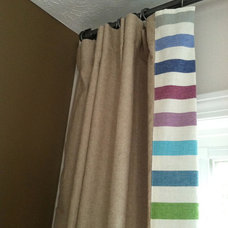 Contemporary Window Treatments by Joanne Fairmont Yinger