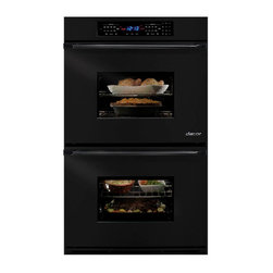 "Dacor Epicure Renaissance 30"" Double Electric Wall Oven, Black | EORS230B - 3.9 CU FT SELF CLEAN - EACH OVEN"