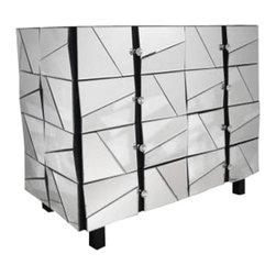 Modrest - Modrest Gosford Mirrored Dresser - Beveled Mirror Surface