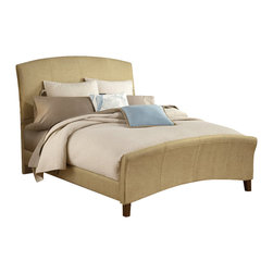 Hillsdale - Hillsdale Edgerton Upholstered Bed in Beige Tweed-Queen - Hillsdale - Beds - 1728BQR