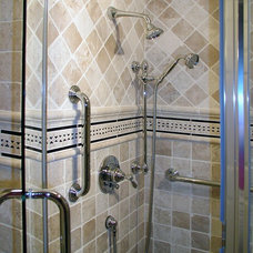 Traditional Bathroom by The Corey Company CustomTile