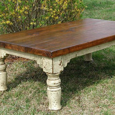 Farmhouse Coffee Tables by Iron Accents