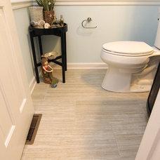 Beach Style Bathroom by Criner Remodeling