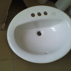 ICC-ES CUPC Vitreous China Bathroom Sink -