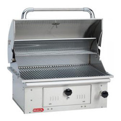 Bull BBQ - Bull Outdoor Bison Charcoal Grill Head - The Bison grill is a 30 inch Stainless Steel Charcoal Grill.304, 18 gauge Stainless Steel Construction