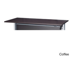 None - Pierce Five-foot Desktop with Metal Legs - Modernize your office with the Pierce five-foot freestanding desk,with clean,modern lines and highly versatile features. The Pierce is the desk that suits anyone's needs.