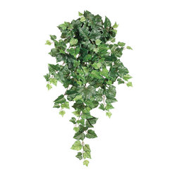 Silk Plants Direct - Silk Plants Direct Algerian Ivy Hanging Plant (Pack of 12) - Silk Plants Direct specializes in manufacturing, design and supply of the most life-like, premium quality artificial plants, trees, flowers, arrangements, topiaries and containers for home, office and commercial use. Our Algerian Ivy Hanging Plant includes the following: