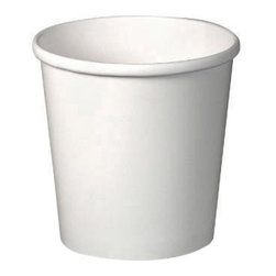SOLO CUP - Flex Paper Food Container 16 Oz White 20/25 - CAT: Foodservice food containers and lids food pails
