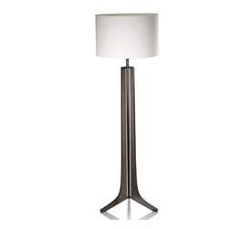 Cerno Forma Floor Lamp - Forma Floor Lamp by Cerno. Cerno LED light fixtures combine the latest in modern fixture design with the highest quality cutting edge LED technology. Cerno products are built and designed in Southern California and include a 2 years performance guarantee warranty. In addition to Cerno's warranty, Cerno offers an in-house repair service for the life of the product. Cerno is committed to Eco-friendly business and manufacturing practices.