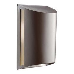 Joshua Marshal - One Light Architectural Bronze Outdoor Wall Light - One Light Architectural Bronze Outdoor Wall Light