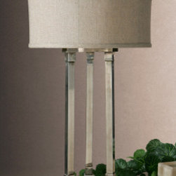 "26542-1 Risto, Tri-Column by uttermost - Get 10% discount on your first order. Coupon code: ""houzz"". Order today."