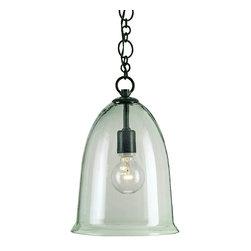 Currey & Co - Harper Old Iron Light Pendant - 1 Bulb, Bulb Type: 100 Watt Edison; Weight: 7lbs