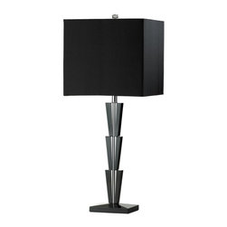 Cyan Design - Cyan Design Deco Table Lamp in Black - Deco Table Lamp in Black
