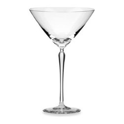 Kate Spade New York - kate spade new york Bellport 6-Ounce Martini Glass - Stemware with hand-pulled European stems and classic clear bowls will make a statement at any table. The tall stems give this stemware a sleek, elegant feel.